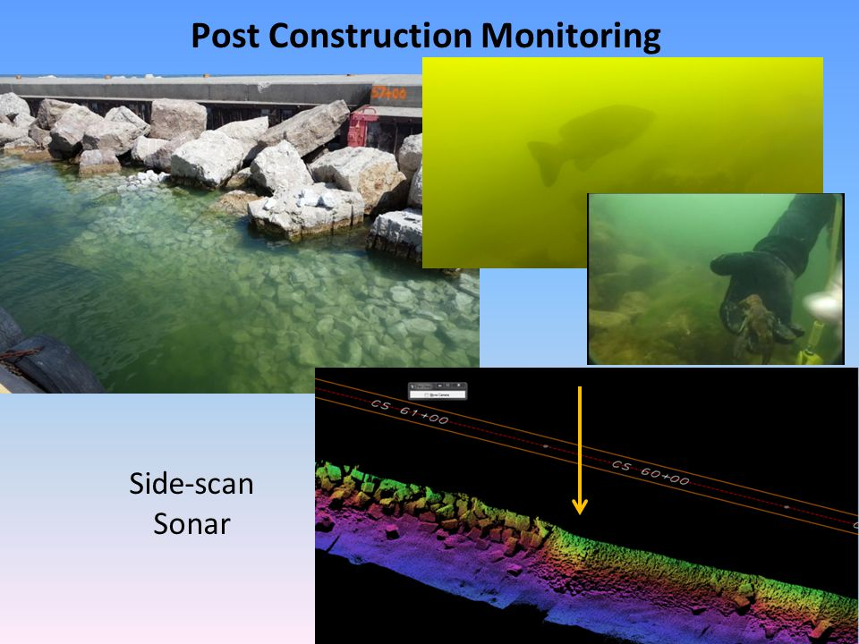 Post Construction Monitoring Side-scan Sonar