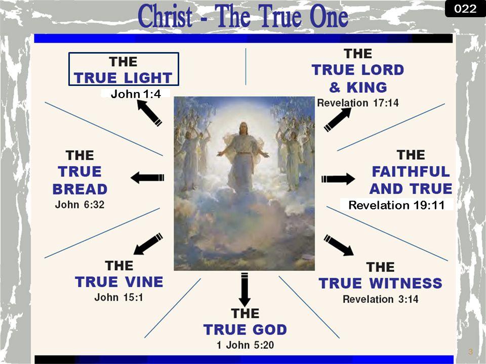 John 1:4 Revelation 19:11 022 3