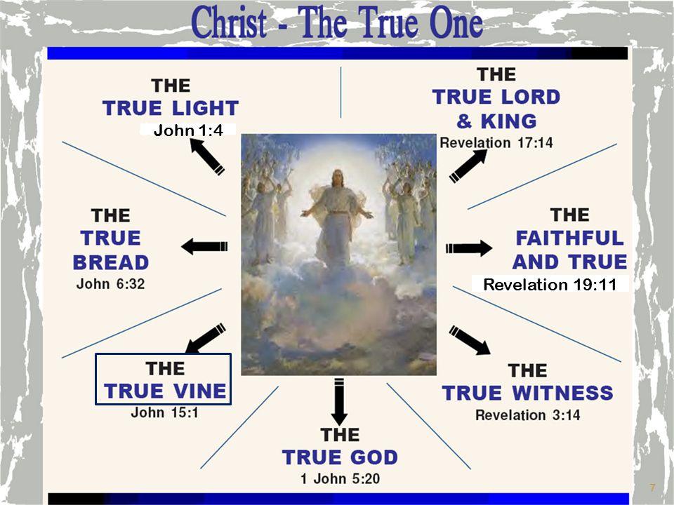 John 1:4 Revelation 19:11 7