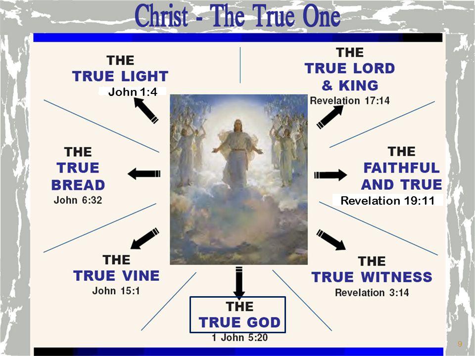 John 1:4 Revelation 19:11 9