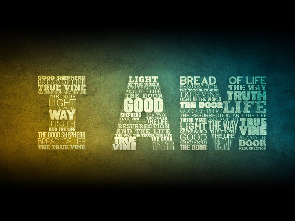 I am the bread of life John 6:35: And Jesus said to them, I am the bread of life.