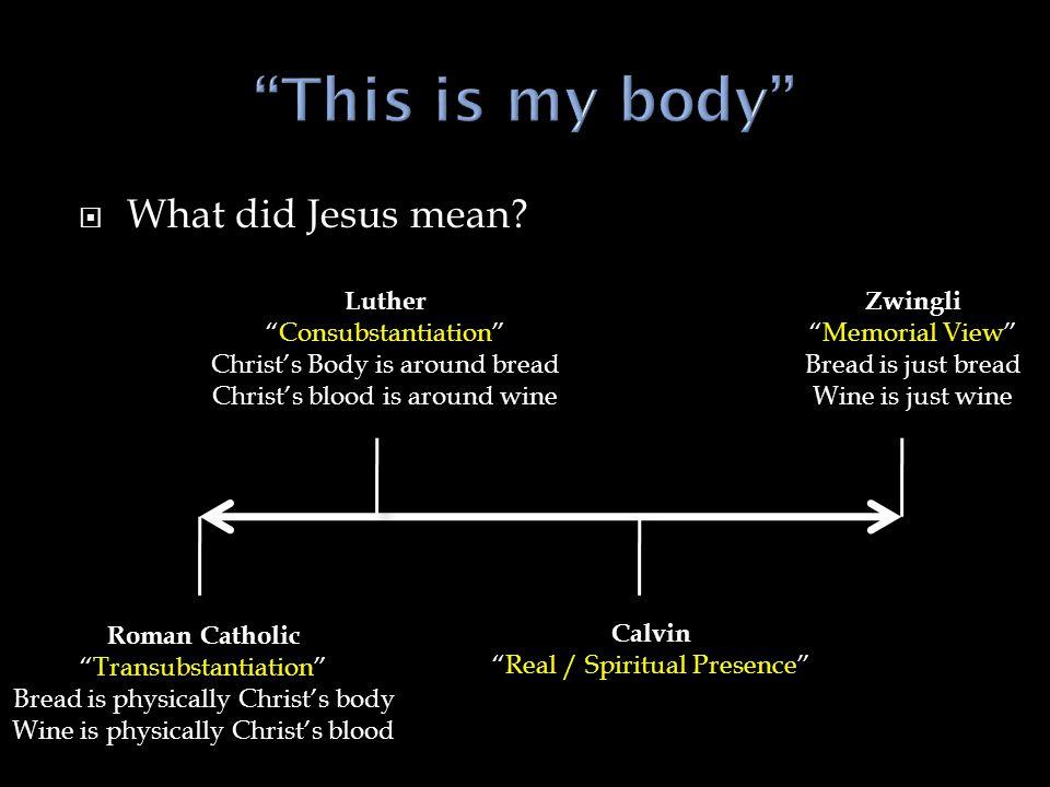  Participation in Christ (1 Cor.