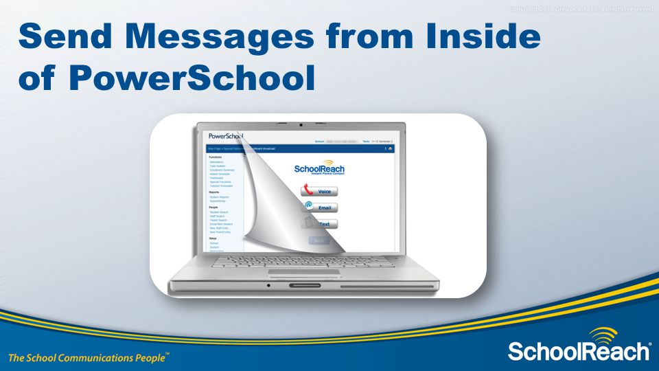 Send Messages from Inside of PowerSchool