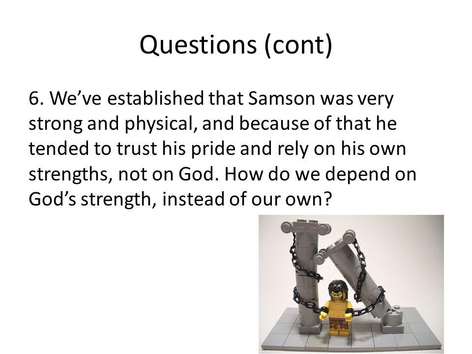 Questions (cont) 6.