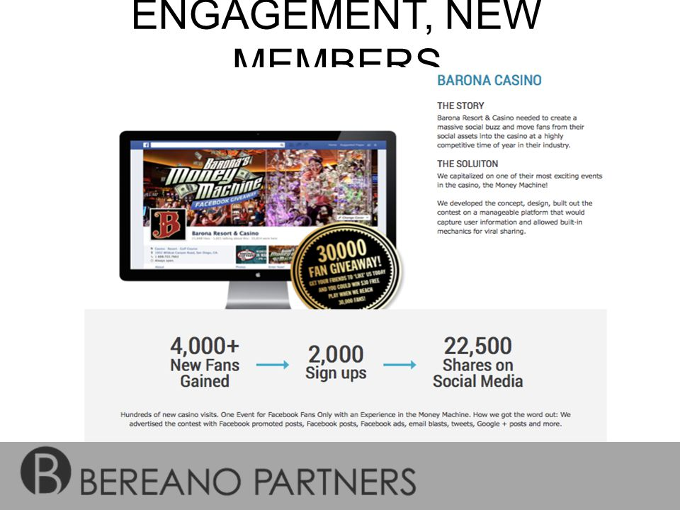 ENGAGEMENT, NEW MEMBERS & VIRALITY