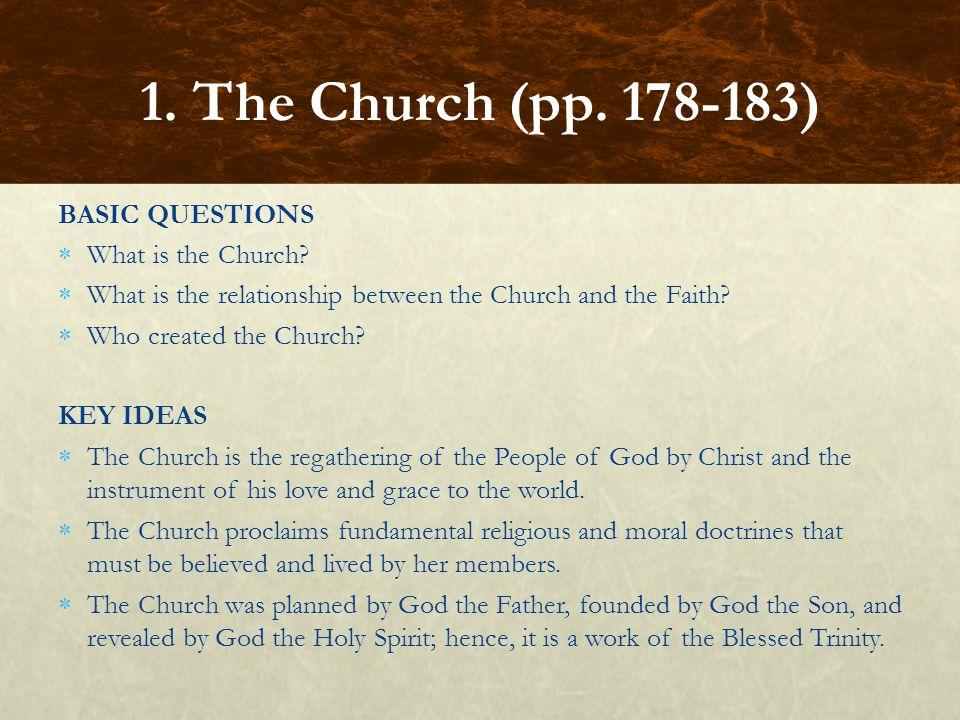 FOCUS QUESTIONS What is Apostolic Succession.