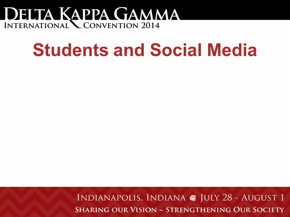 Students and Social Media