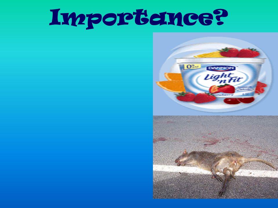 Importance?