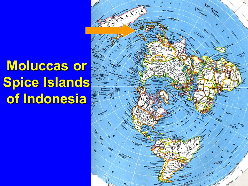 Moluccas or Spice Islands of Indonesia