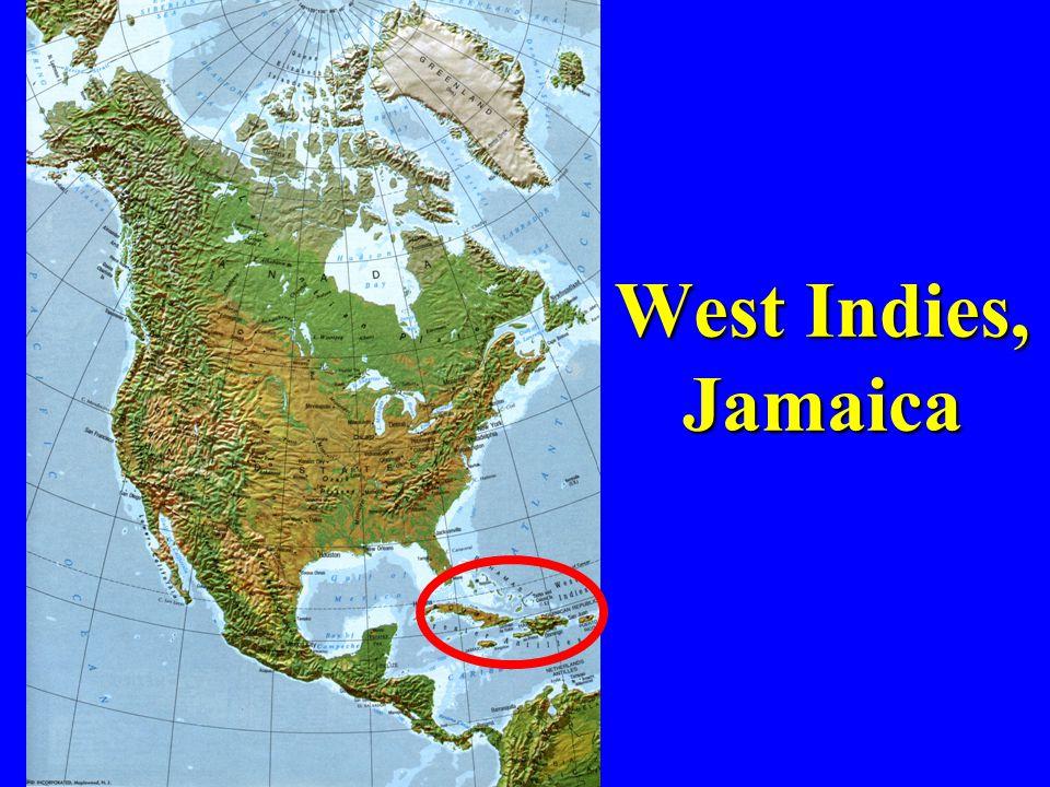 West Indies, Jamaica