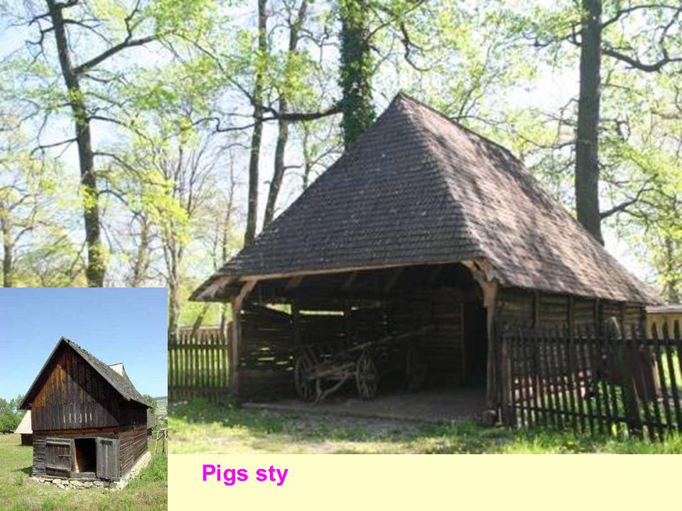 Pigs sty