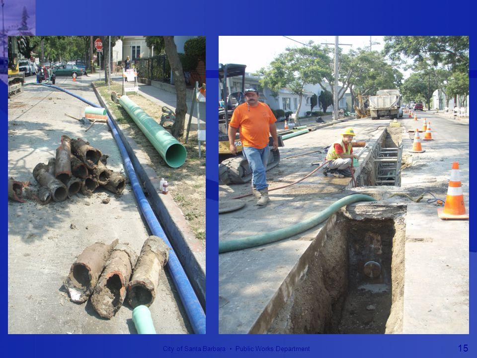 City of Santa Barbara Public Works Department 15