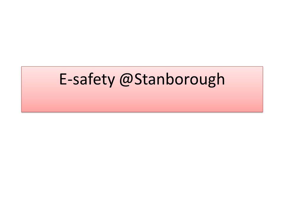 E-safety @Stanborough