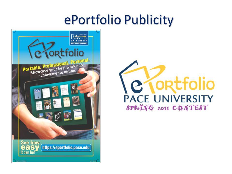ePortfolio Publicity