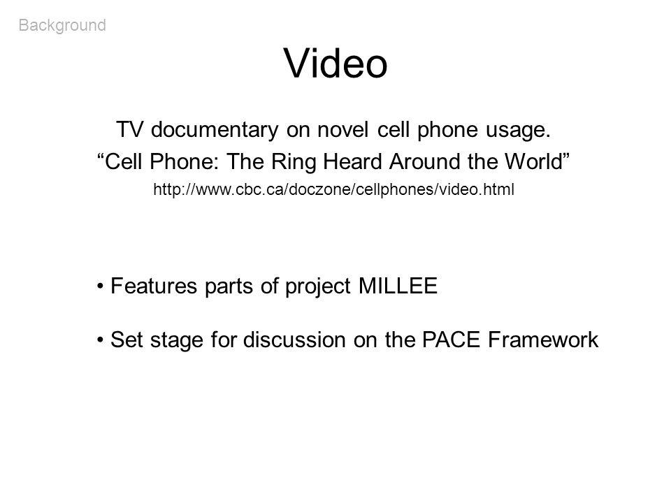 The PACE Framework: Main Topics 1.Design Challenges 2.Solution: The PACE Framework 3.Implementation and User Studies