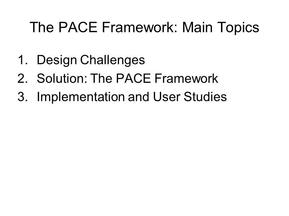 1) Design Challenges