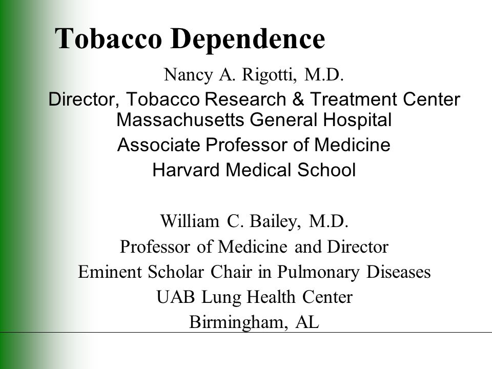 Not enough time Minimal interventions lasting less than 3 minutes increase overall tobacco abstinence rates. The PHS Guideline (Strength of Evidence = A)