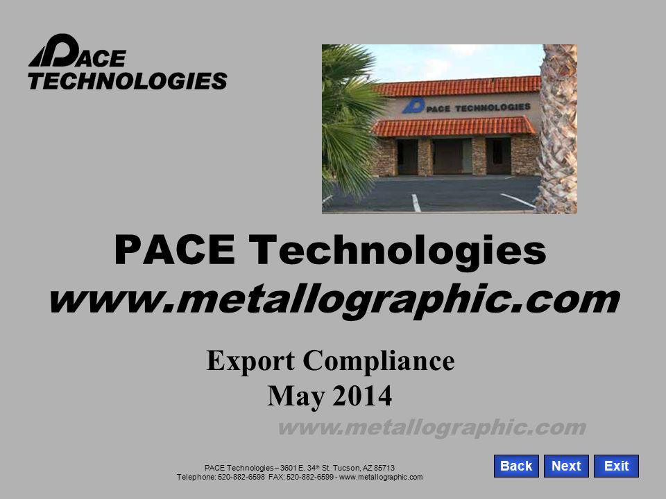 PACE Technologies – 3601 E.34 th St.