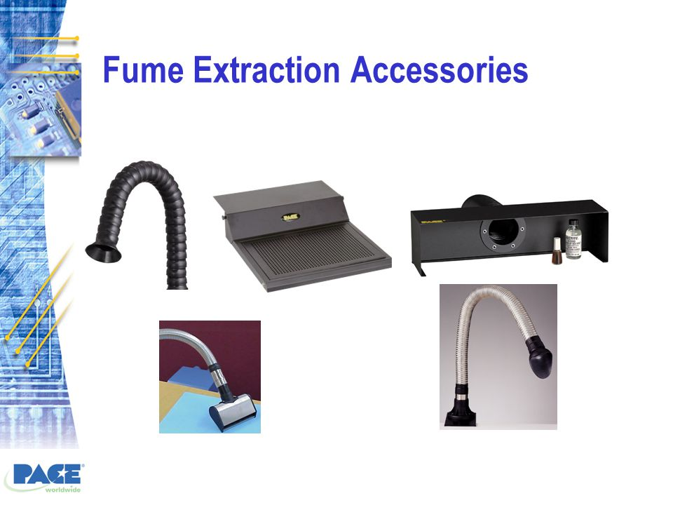 Fume Extraction Accessories