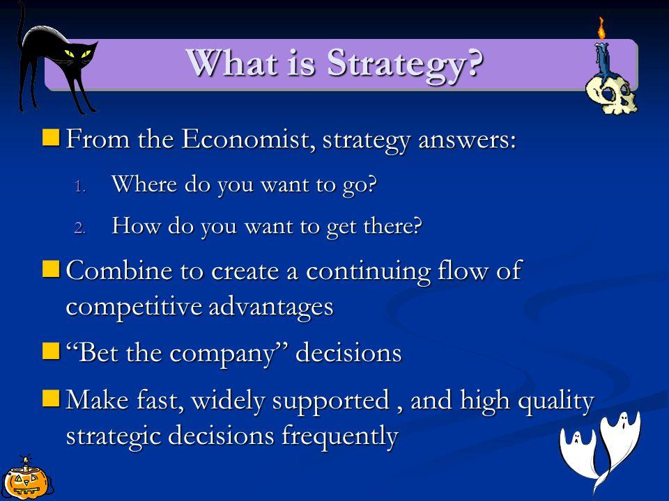 Strategy as Strategic Decision Making Brian, Glen, Kevin, Thomas, Yunhwan