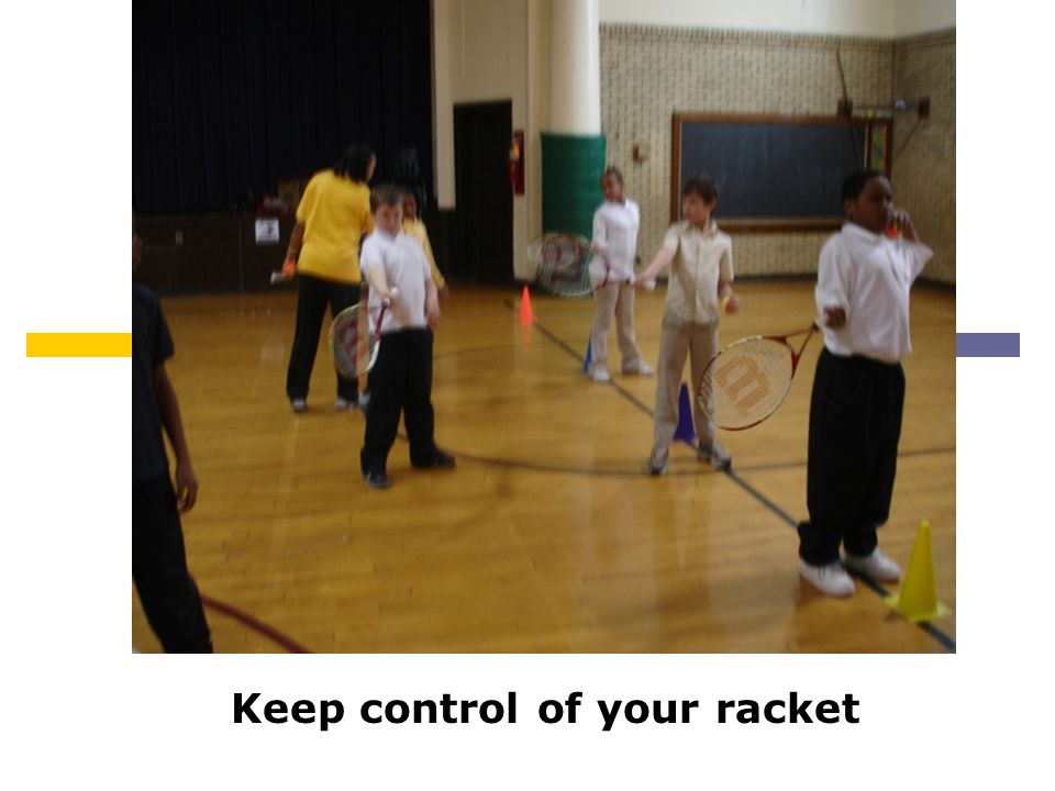 Keep control of your racket