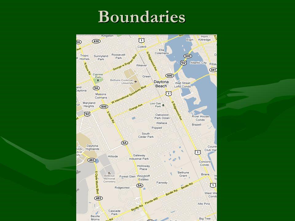 Boundaries Boundaries
