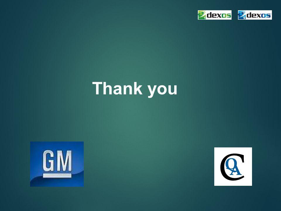 Thank you C Q A