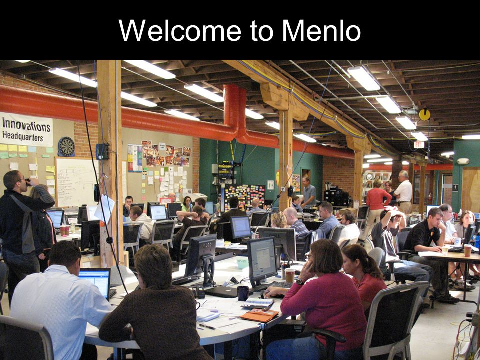 Welcome to Menlo Introduction