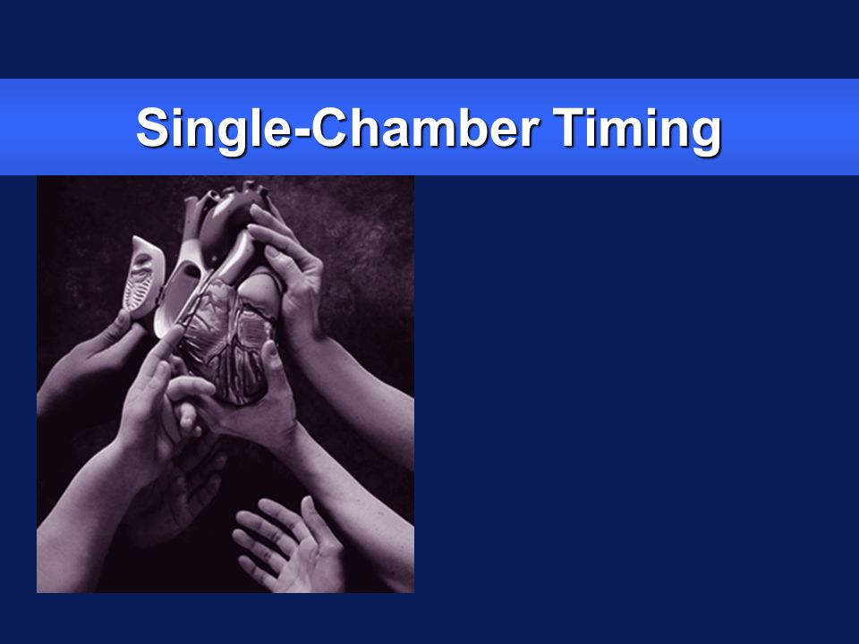 Single Chamber Timing Terminology zLower rate zRefractory period zBlanking period zUpper rate