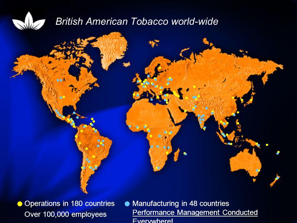 British American Tobacco Performance Management Example