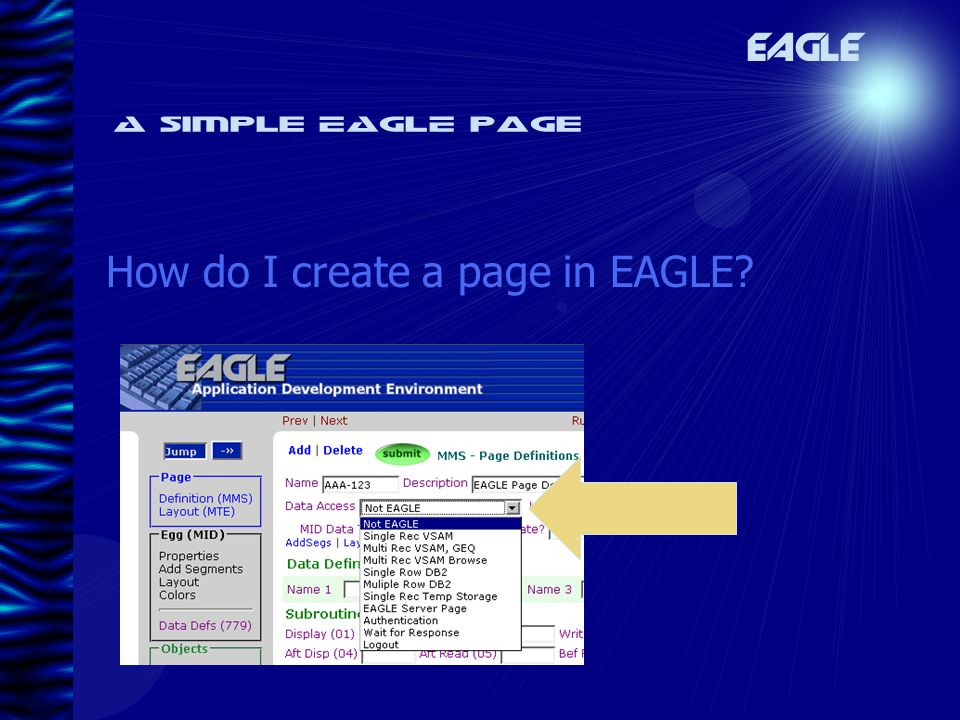 A simple EAGLE page EAGLE How do I create a page in EAGLE