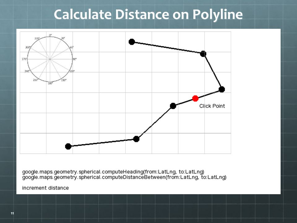 Calculate Distance on Polyline 11