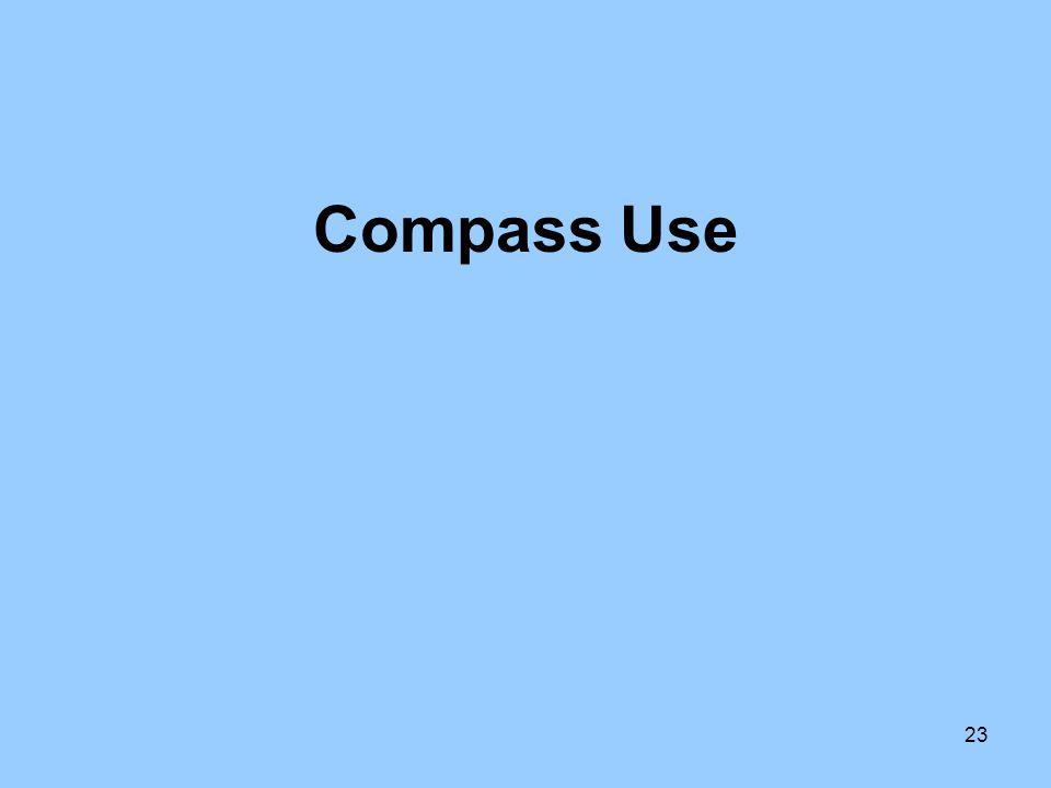 23 Compass Use