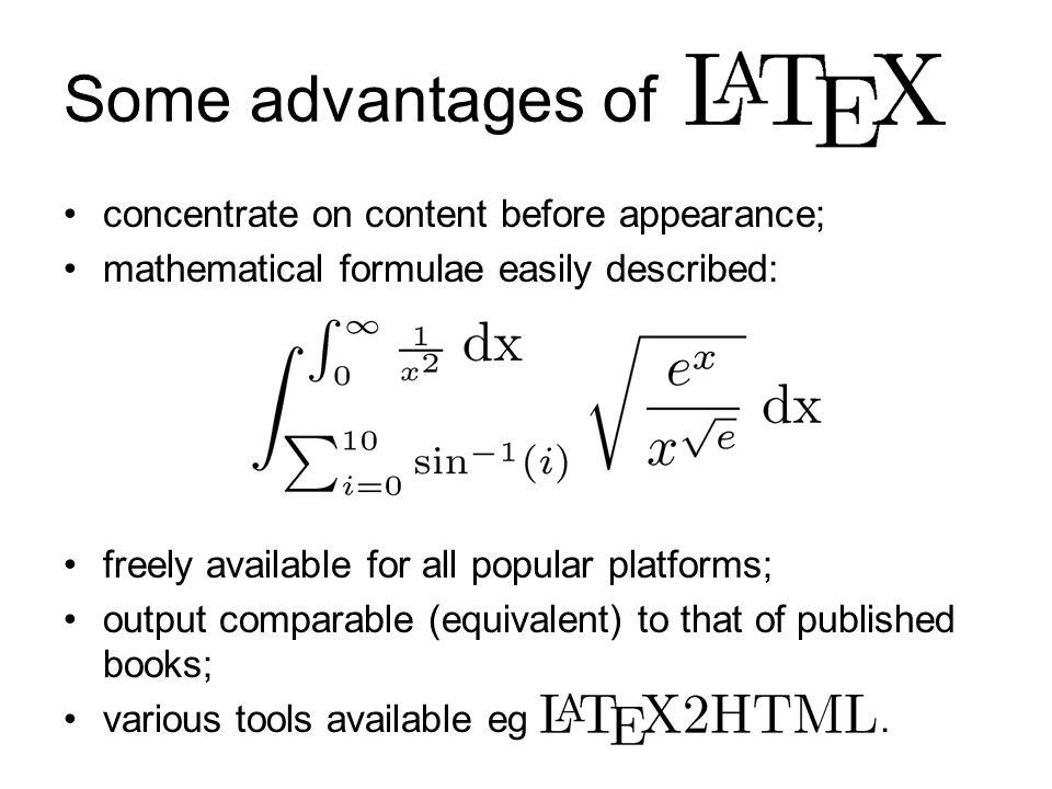 Some Mathematical Symbols