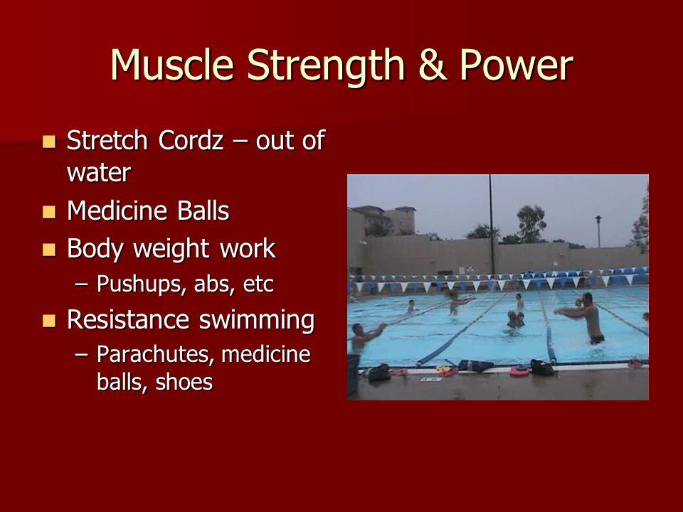 Practice Design Breaststrokers Breaststrokers –Partner cordz – –6 x (2x50 + 2x25) @ partner/equipment change –50's – resistance swim, kick back –25's – 10 sec partner delay