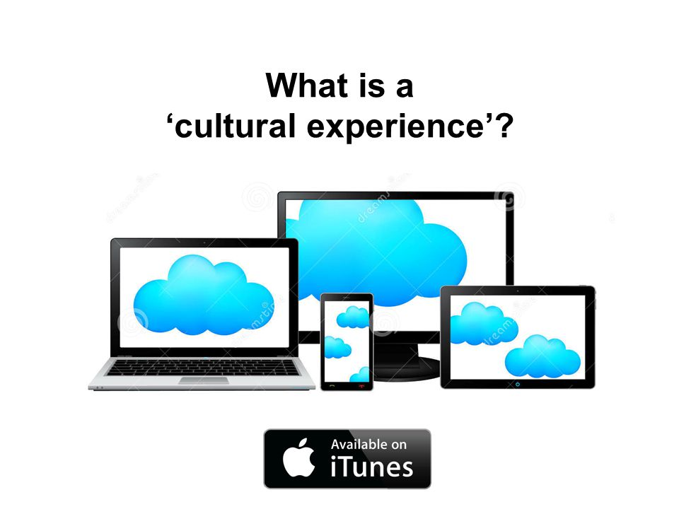 What is a 'cultural experience'?
