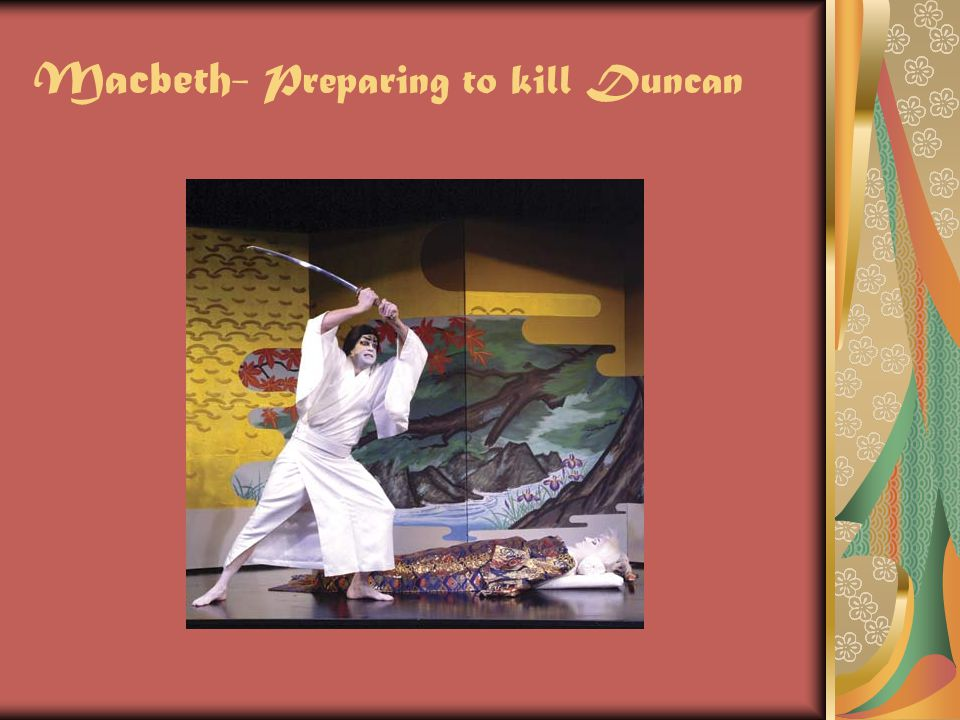 Macbeth- Preparing to kill Duncan