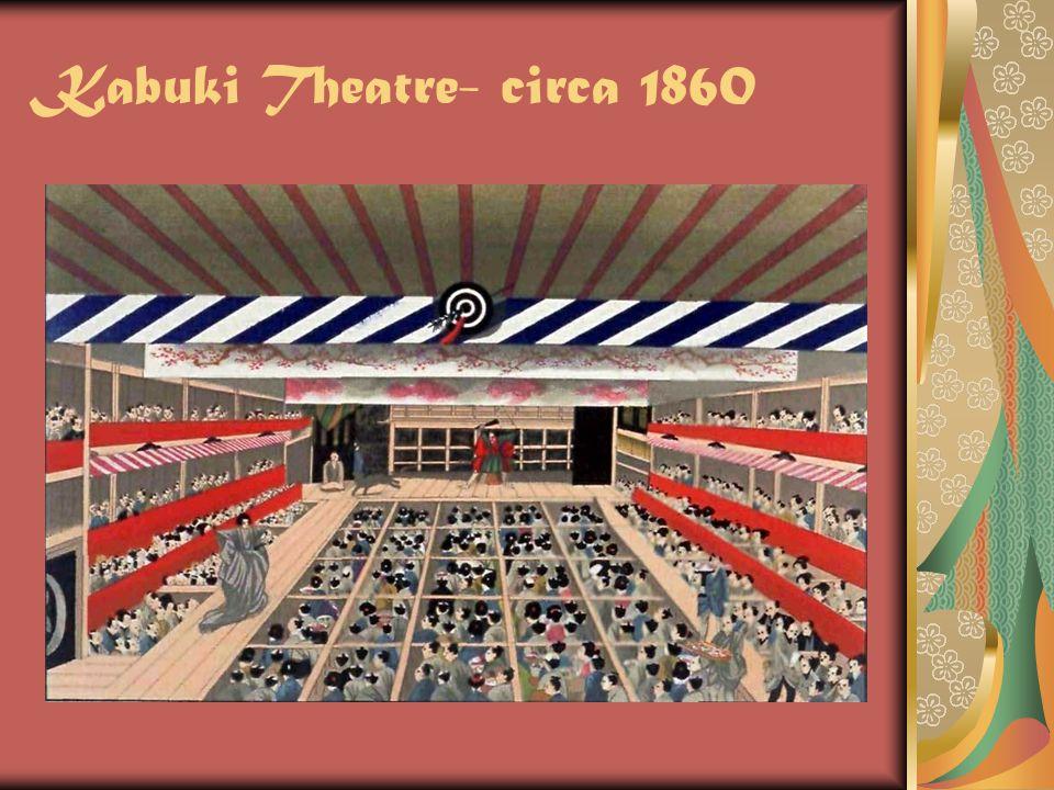Kabuki Theatre- circa 1860