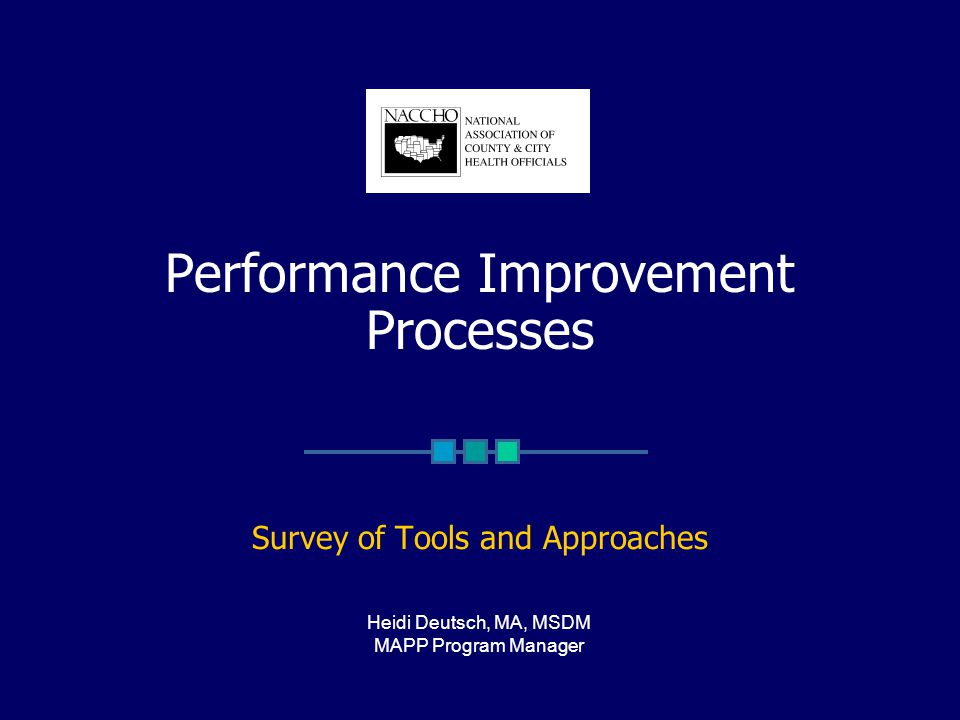 Overview Defining Terms APEXPH MAPP Performance Standards PACE EH PATCH Performance Measurement