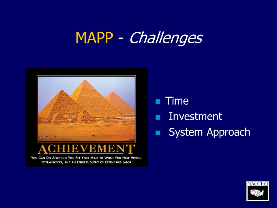 MAPP - Challenges Time Investment System Approach