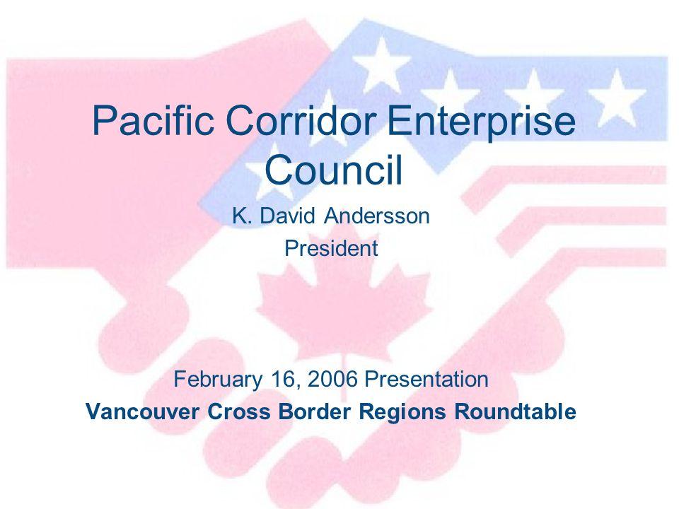 Pacific Corridor Enterprise Council K.