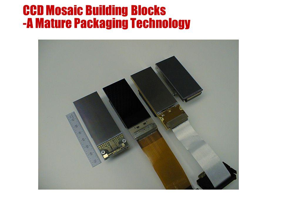 CCD Mosaic Building Blocks -A Mature Packaging Technology
