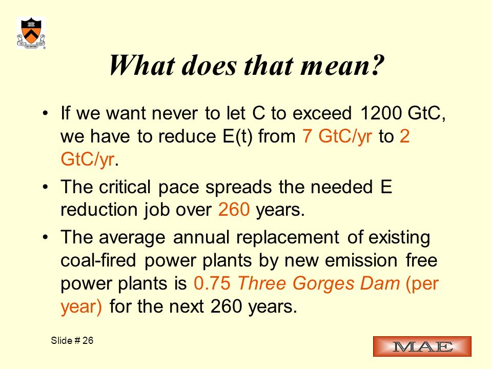 Slide # 26 What does that mean.