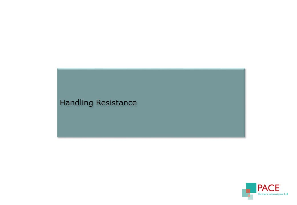 Handling Resistance