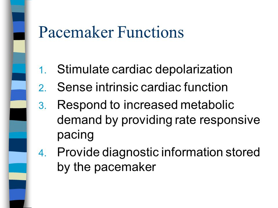 Device to treat tachydysrhythmias If ICD senses a vent rate > programmed cut- off rate of the ICD  device performs cardioversion/defibrillation All ICDs are also vent pacemakers Required shock is approximately <15 Joules Similar problems with implantation as pacemakers