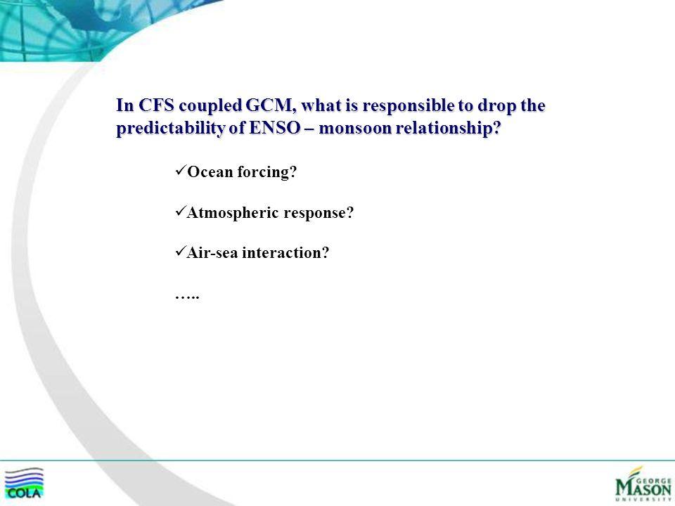 Ocean forcing.Atmospheric response. Air-sea interaction.