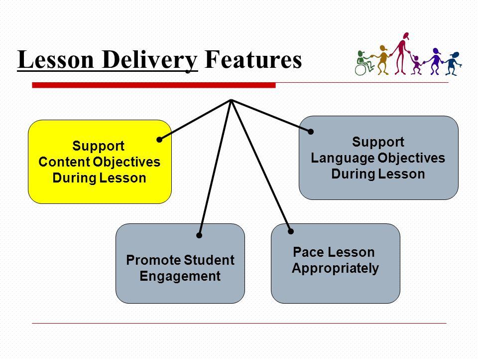 Sample SIOP Lesson Plan