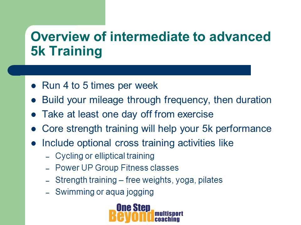 Key Running Sessions Track or tempo road workout Long run up to 10 miles Hilly terrain workouts Drills session Easy runs