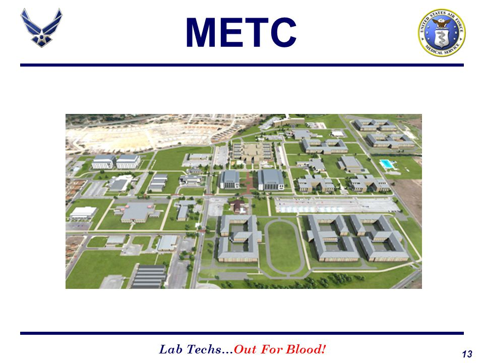 13 Lab Techs…Out For Blood! METC