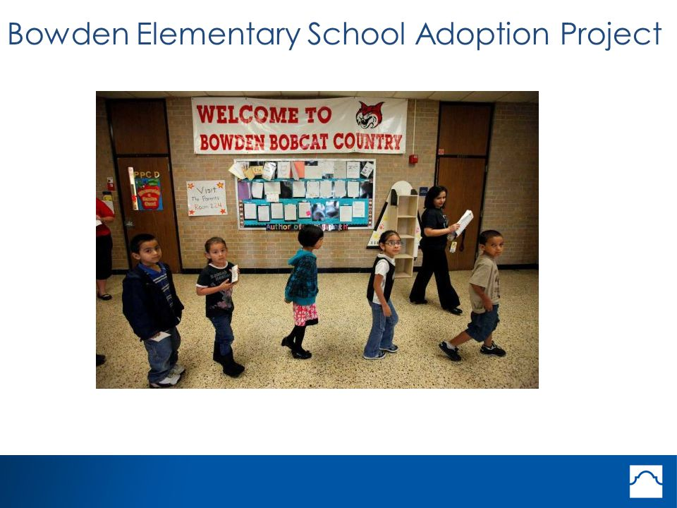 Bowden Elementary School Adoption Project